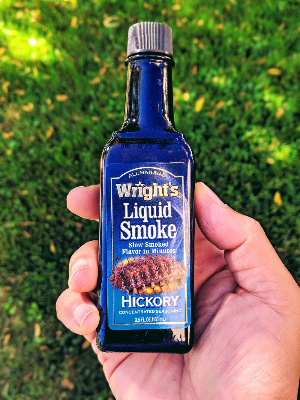 Liquid Smoke - Do you want that hickory smoked flavor? Then this is what you need, especially if you are bringing something to the BBQ.