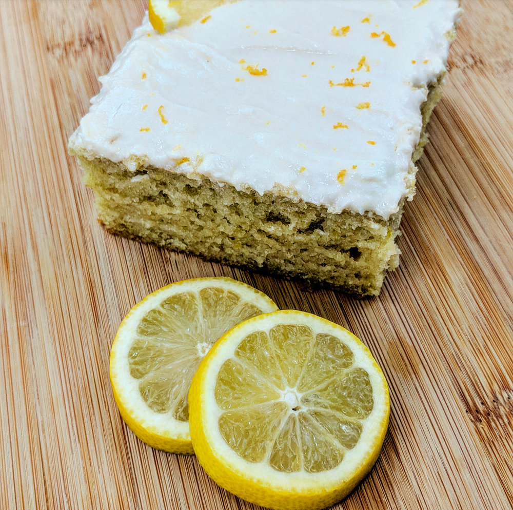 Vegan Lemon Cake -