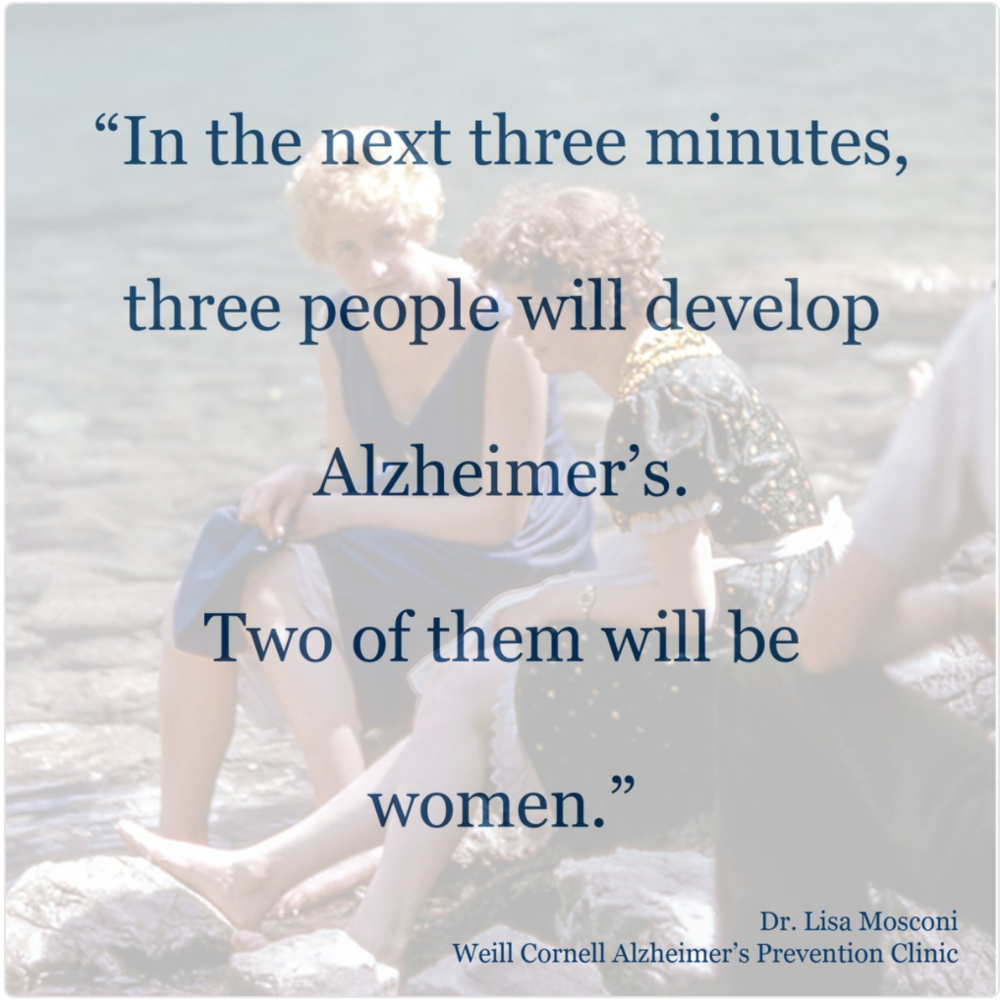 Menopause, Alzheimer's, and