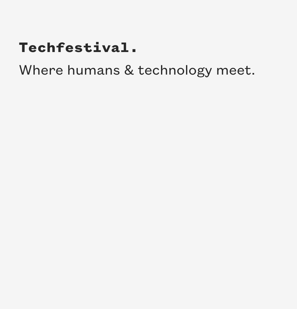 TechFestival 2018 - Ego. Food. Tech. Create. Humans. People. Explore. Learn. Work. Start. Cities. Democracy.Techfestival is a five-day exploration of humans and technology. Dr. Mosconi will be speaking about Brain Food and how to maximize creativity and brain power through your diet and lifestyle choices:Where: Copenhagen, DenmarkWhen: September 7th, 2018Read more about the event here.