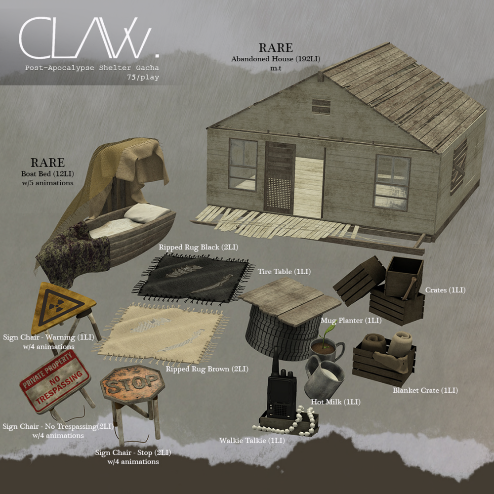 C-L-A-Vv.-Post-Apocalypse-Shelter-Gacha-Sheet.png