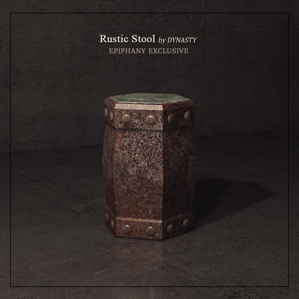 DYNASTY - Rustic Stool EXCLUSIVE.png