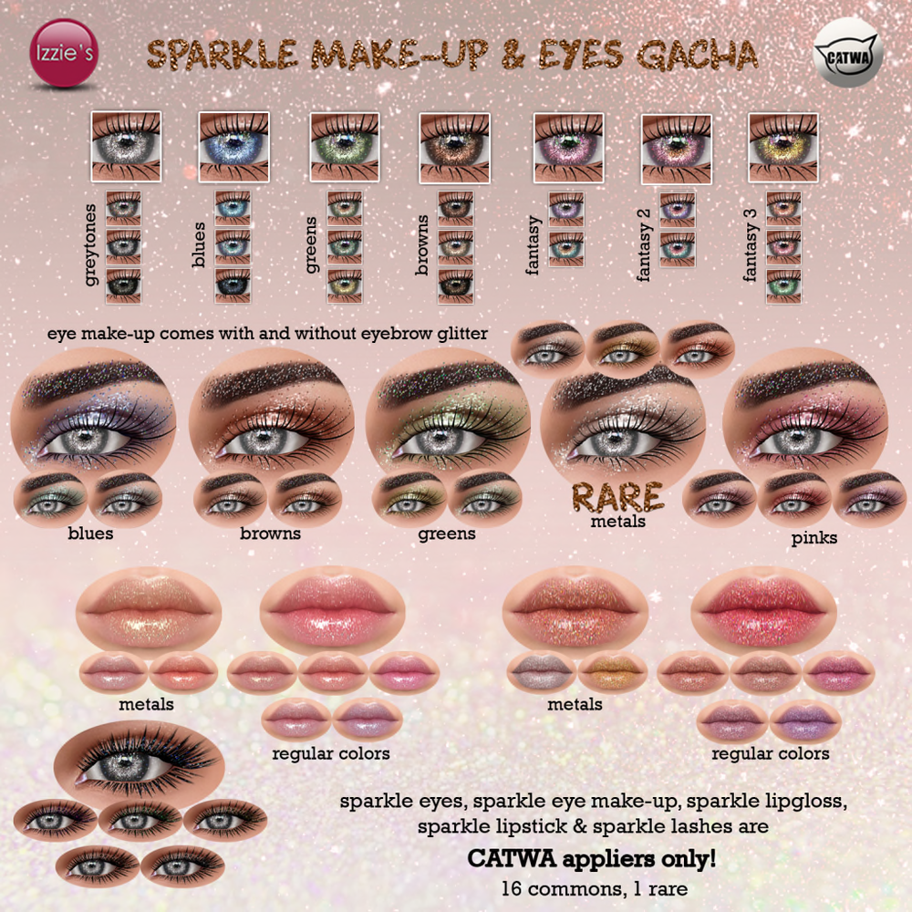 Izzie's - Sparkle Make-Up Gacha (The Epiphany).png