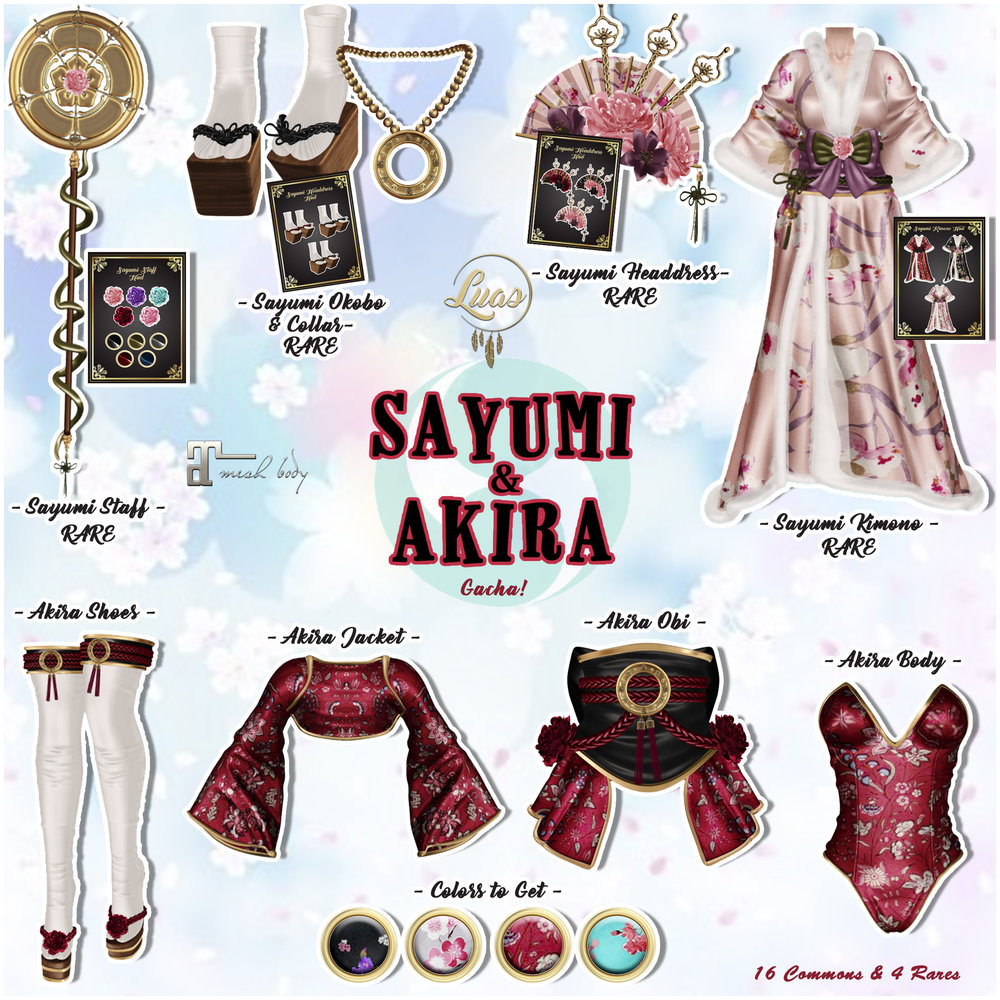 Luas Sayumi & Akira Gacha Key.jpg