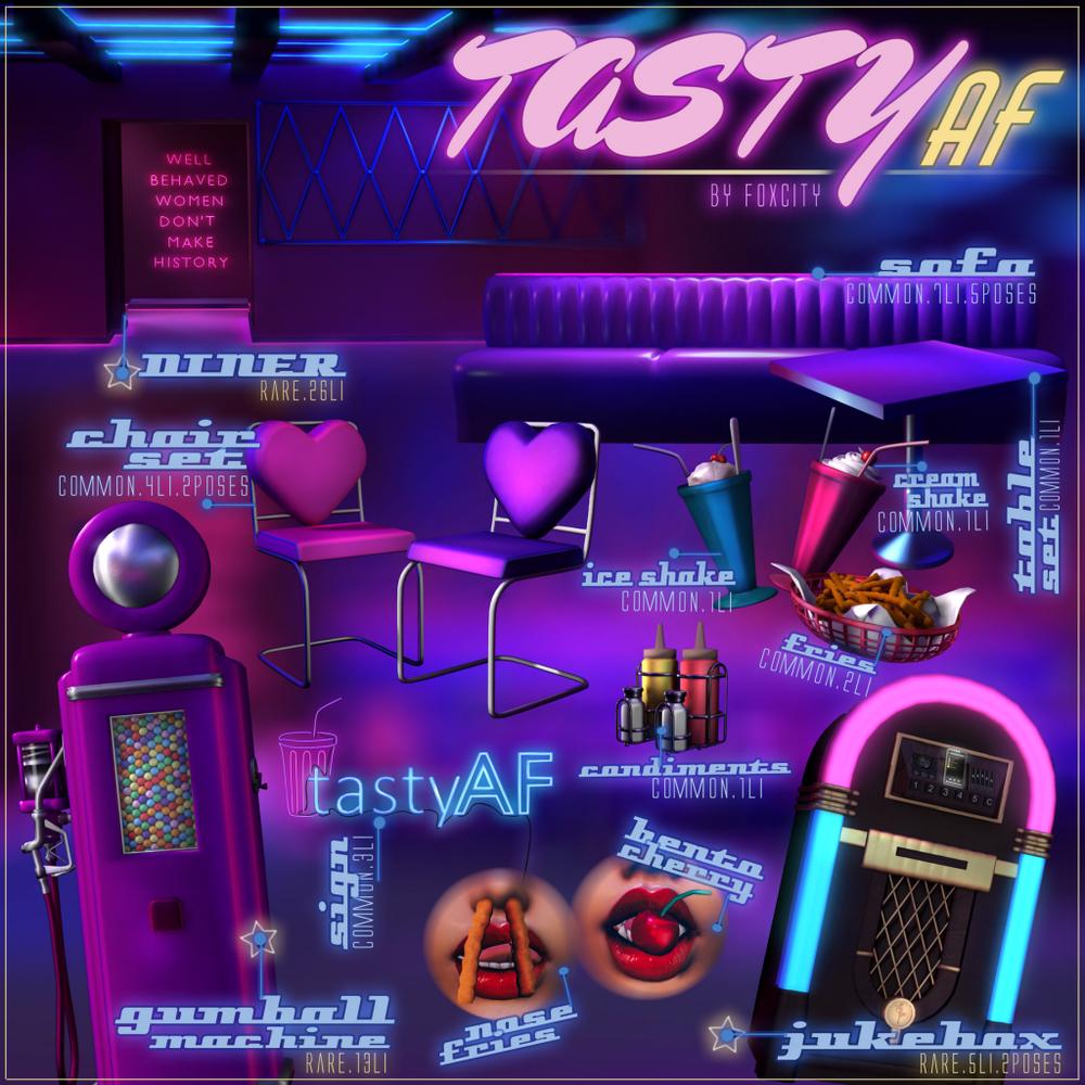 FOXCITY. Tasty AF Gacha Key.png