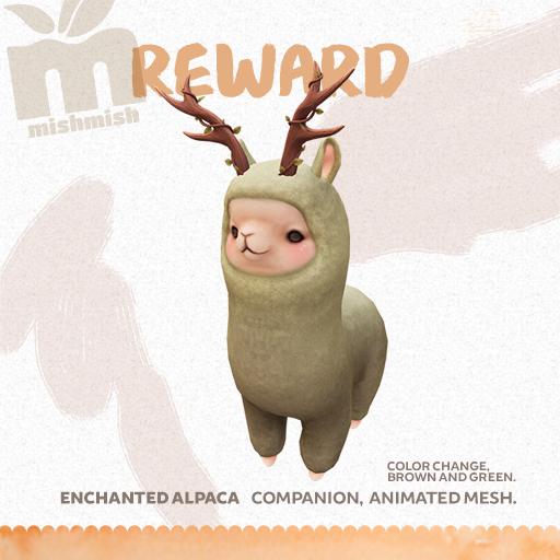 MishMish - Alpaca - Reward.png
