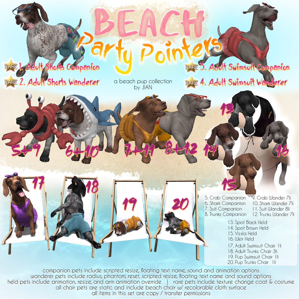 JIAN Beach Party Pointers Gacha Key.png
