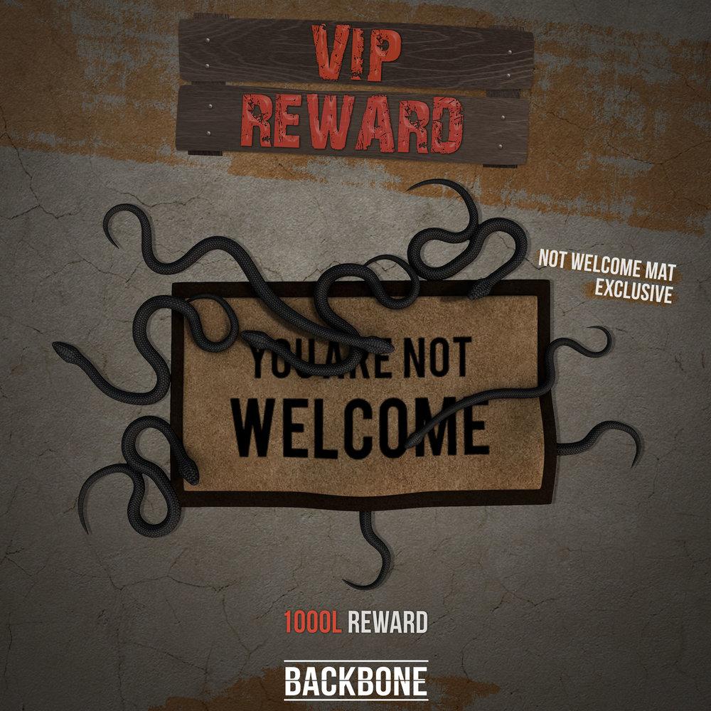 Backbone - you're not welcome - vip reward - ad.jpg