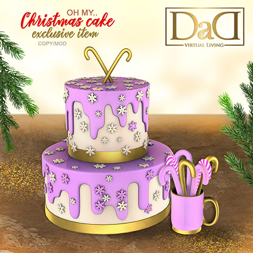 DaD - Oh... my Christmas cake! exclusive prize 512.png