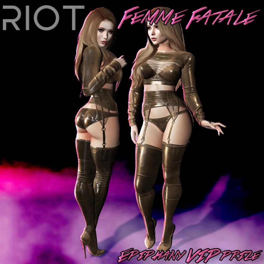 RIOT Femme Fatale VIP Prize.png