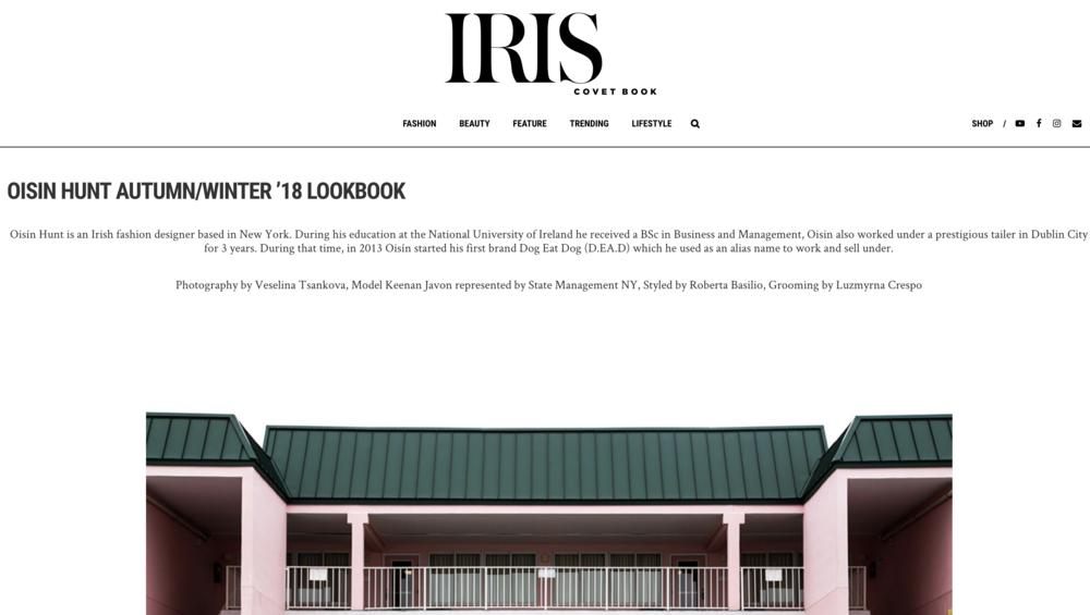 Iris Covet Book