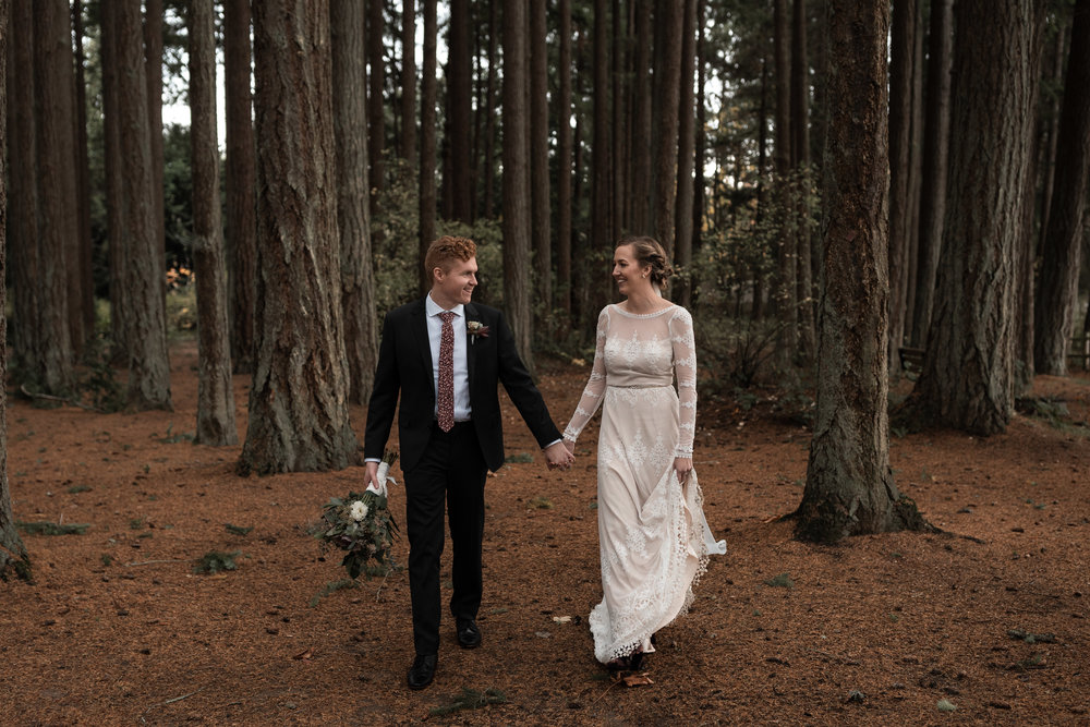 Olympic Peninsula Wedding. Between the Pine. Washington Wedding Photographer Seattle, WA
