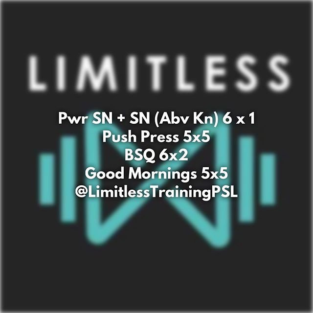 122618 Class Schedule M thru F 5am, 610pm, 710pm, 810pm 8am, 930am Sat *If you would like to try a class or need to work out at a different time thats not on the current schedule, please contact us.  Email: Limitless@Limitlesspsl.com  Or visit Limitlesspsl.com #psl #portsaintlucie #portstlucie #weightlossjourney #transformation  #mentalhealth #selflove #chasediscomfort #functionalfitness #hiit #powerlifting #strength #training #weightlifting #gpp #personaltrainer #community #fitness #fitnessmotivation #workout #noexcuses #wearelimitless #bxmeetsrx #wod #gym #workoutoftheday #bettertogether #florida #treasurecoast