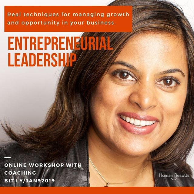 Learn management skills from visionary leaders, including Facebook executive turned entrepreneurDebra Bednar-Clark,and career coach and former Google HR executiveSwati D. Doshi, to drive growth and opportunity for your business and career. Over six weeks, you'll hear from experts and apply new tactical skills through project-based work with input from Coach Doshi.  This course will cover topics designed to support new or future managers as they embark on a leadership path.  Link: bit.ly/JAN92019  #leadershiptraining #coaching #leadership #leadershipdevelopment #edmakercourses #hrconsulting #careercoaching #newmanagerdevelopment #edmaker #humanresults #humanresultsllc #onlineworkshop #entrepreneurship #swatiddoshi