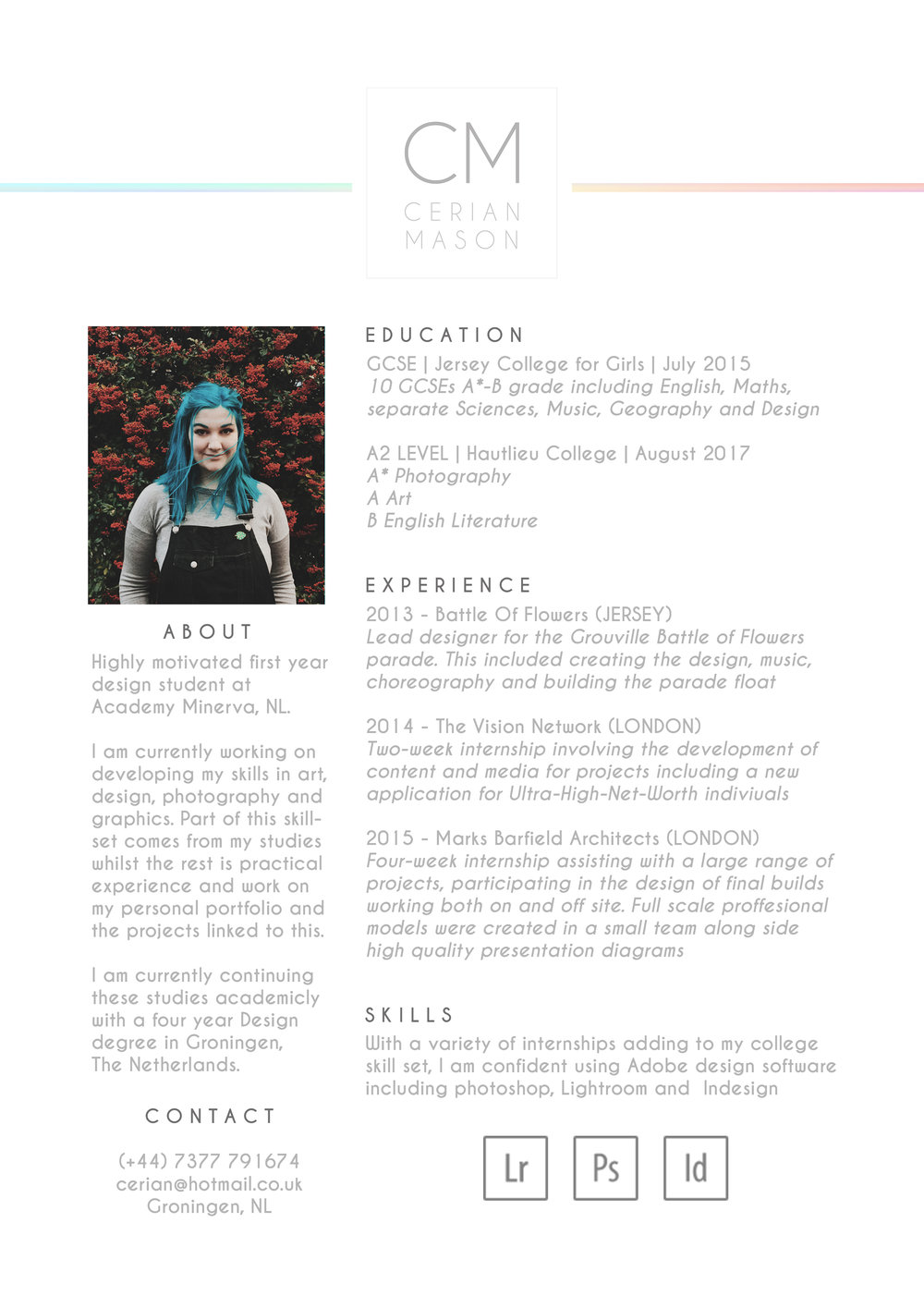 Cerian Mason CV PAGE ONE.jpg