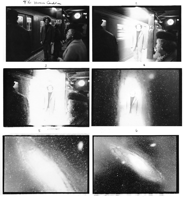 Duane Michals –  Human condition , 1969.