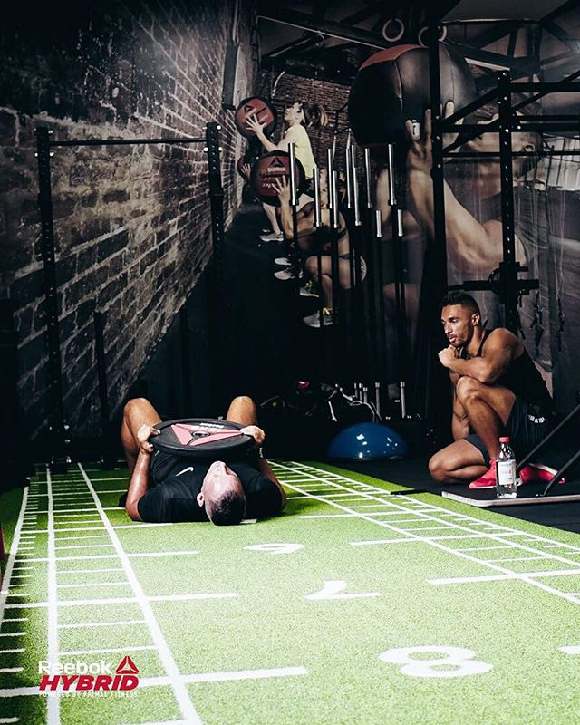 Our personal trainers care more about you than you do. @reebokhybrid #createyourself