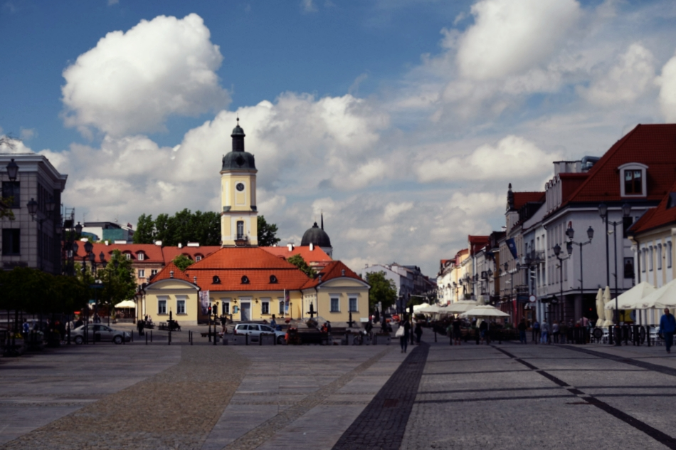 Main square of Bialystok