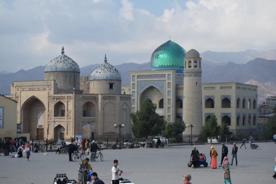 Mosque in Khujand, Tajikistan