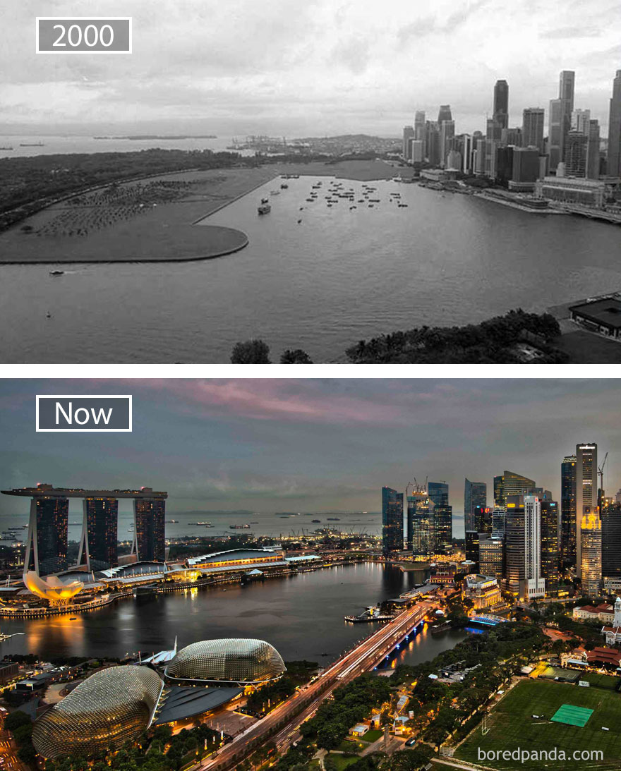 Singapore, Before & After
