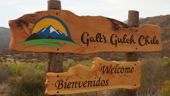 Galt's Gulch Chile scammed investors