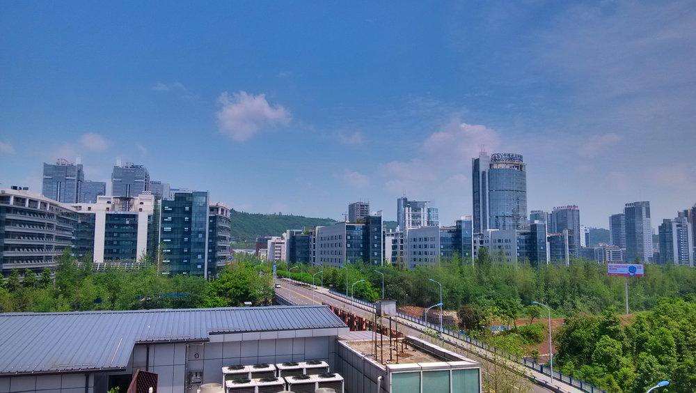 Chongqing, the namesake of the Chongqing model.