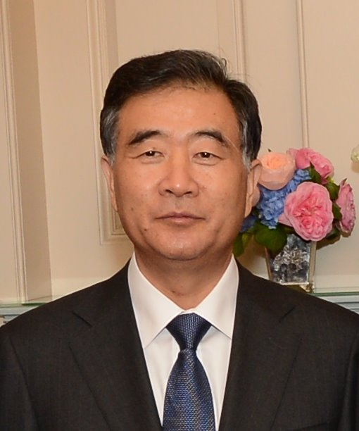 Wang Yang is of a differing opinion to his colleague.