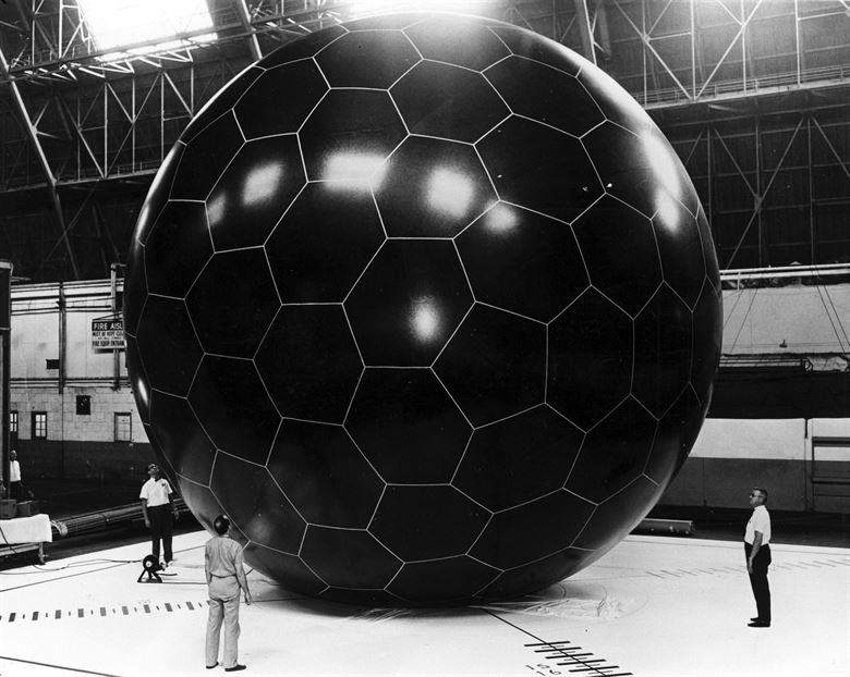 A NASA observation balloon from the 1950's. The applications are manifold!