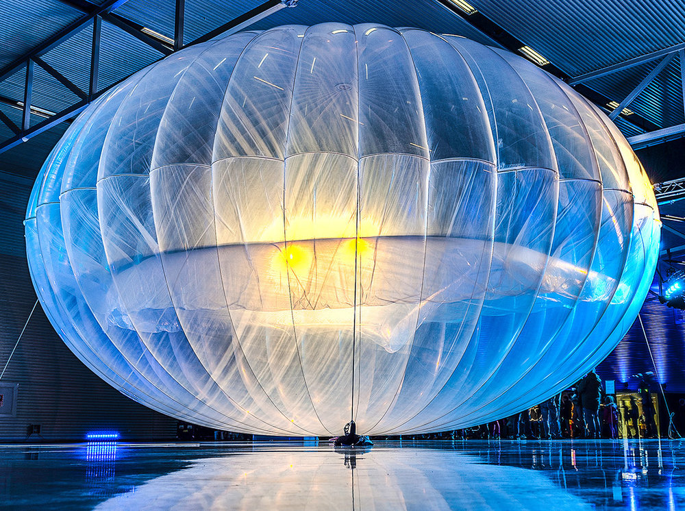 Google's project Loon is an ambitious undertaking: balloons that will provide broadband wi-fi access to tens of thousands!