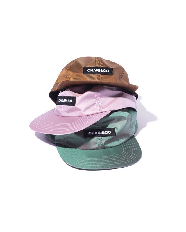 BOX LOGO METALLIC 6 PANEL CAP. #ChariAndCo