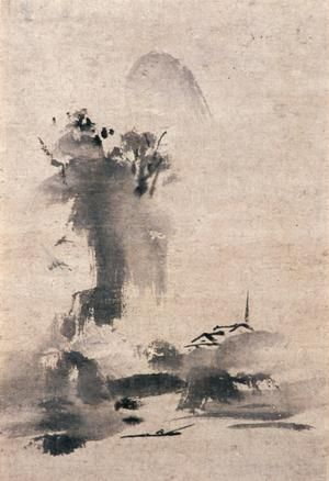 Haboku sansei by the artist Sesshu Toyo, 1495, (theartwolf.com)