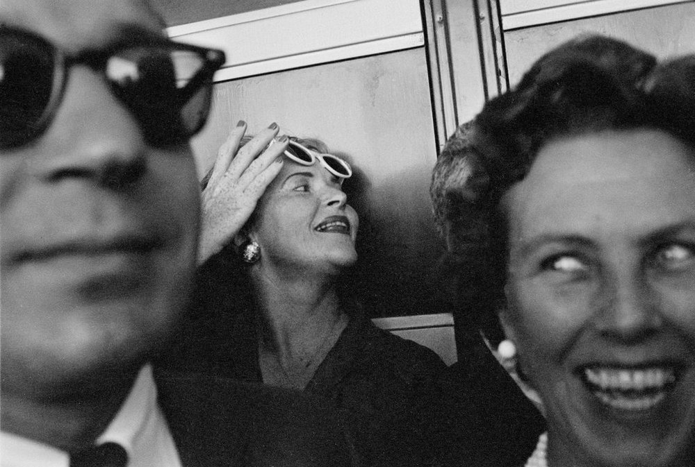 Image by Garry Winogrand. Winogrand often used unconventional compositions in his images.(https://lens.blogs.nytimes.com/2012/04/19/a-puzzle-in-pictures-garry-winogrand-1960/