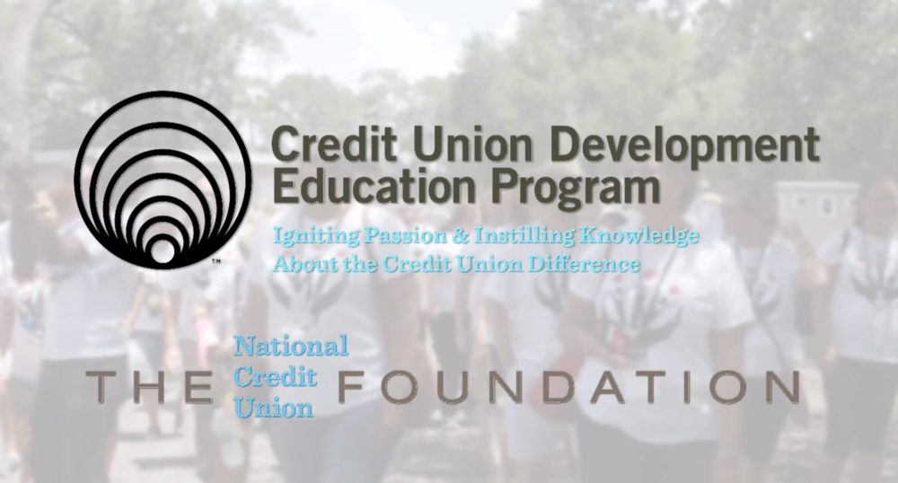 Non-profit promotion - The National Credit Union Foundation asked us to help them show how the work they do to helps Credit Unions give back in their communities.