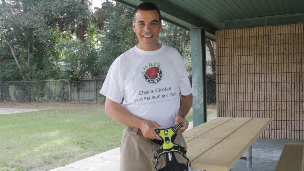 Victor Martz, President, Chai's Choice Dog Collars -