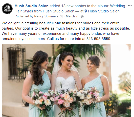 Hush stuido salon facebook.PNG