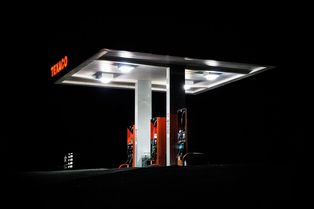 The petrol fuelling station has been refined over decades to improve its safety and usability during fuel delivery