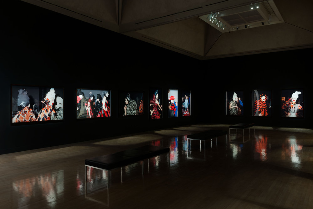 Nick Waplington/Alexander McQueen: Working Process, 10 March - 17 May 2015, Tate Britain, Level 2 Galleries,  Installation view,  Courtesy Tate Photography