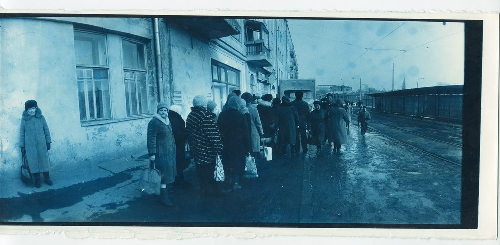 Boris Mikhailov, From the series  At Dusk , 1993 © Boris Mikhailov