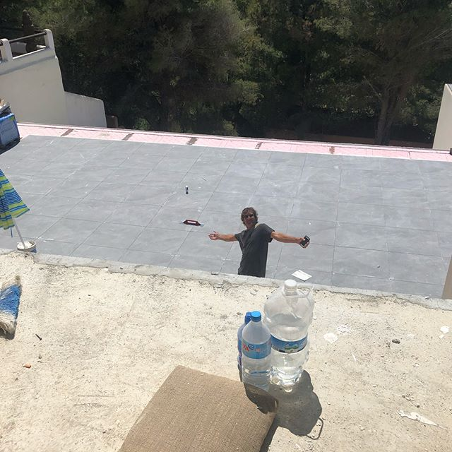 #Ibiza #tiling#protiler #swimmingpools #versatiled