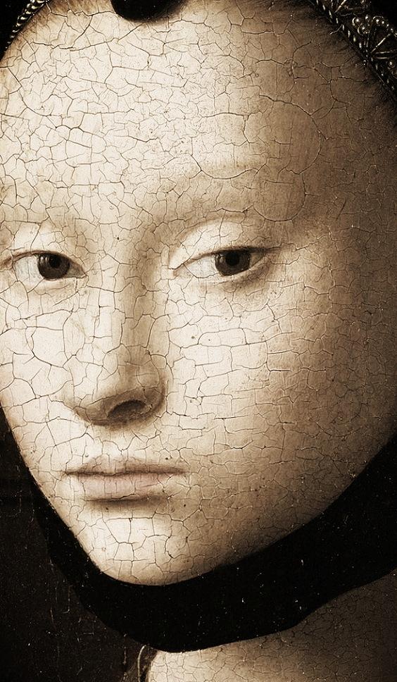 Petrus Christus (Baarle,1415. körül —Brugge,1473.) flamand portré-és életképfestö