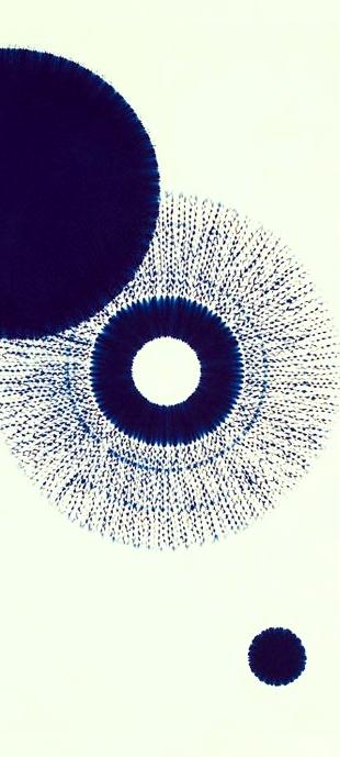 A Nap képe: Nap-Hold- azaz HA-THA, Egység: a népmesében Tündér Ilona (jelentése szintén Nap-Hold)   Japán Shibori