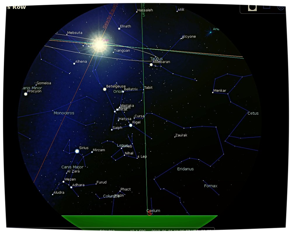 2018 Június 21: A Napot Orion/Nimród keze emeli fel, az égi egyenlítö és a galaktikus egyenlitö találkozásánal. Az Átjáró nyitva, ha teheted töltsd e fontos napot a szabadban, töltödj a Nap erejével.