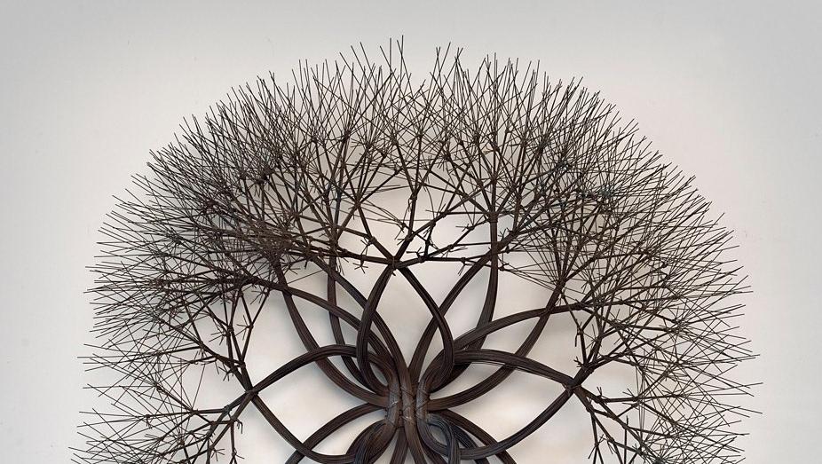 Ruth Asawa (1926-2013) japán dróthorgoló mesterszobrász  Mester az aki a hajlithatatlant meghajlítja, a láthatatlant láttatja, a feladhatatlant feladja.