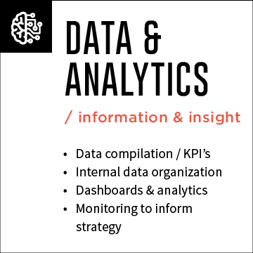 Data & Analytics - Dashboards made digital