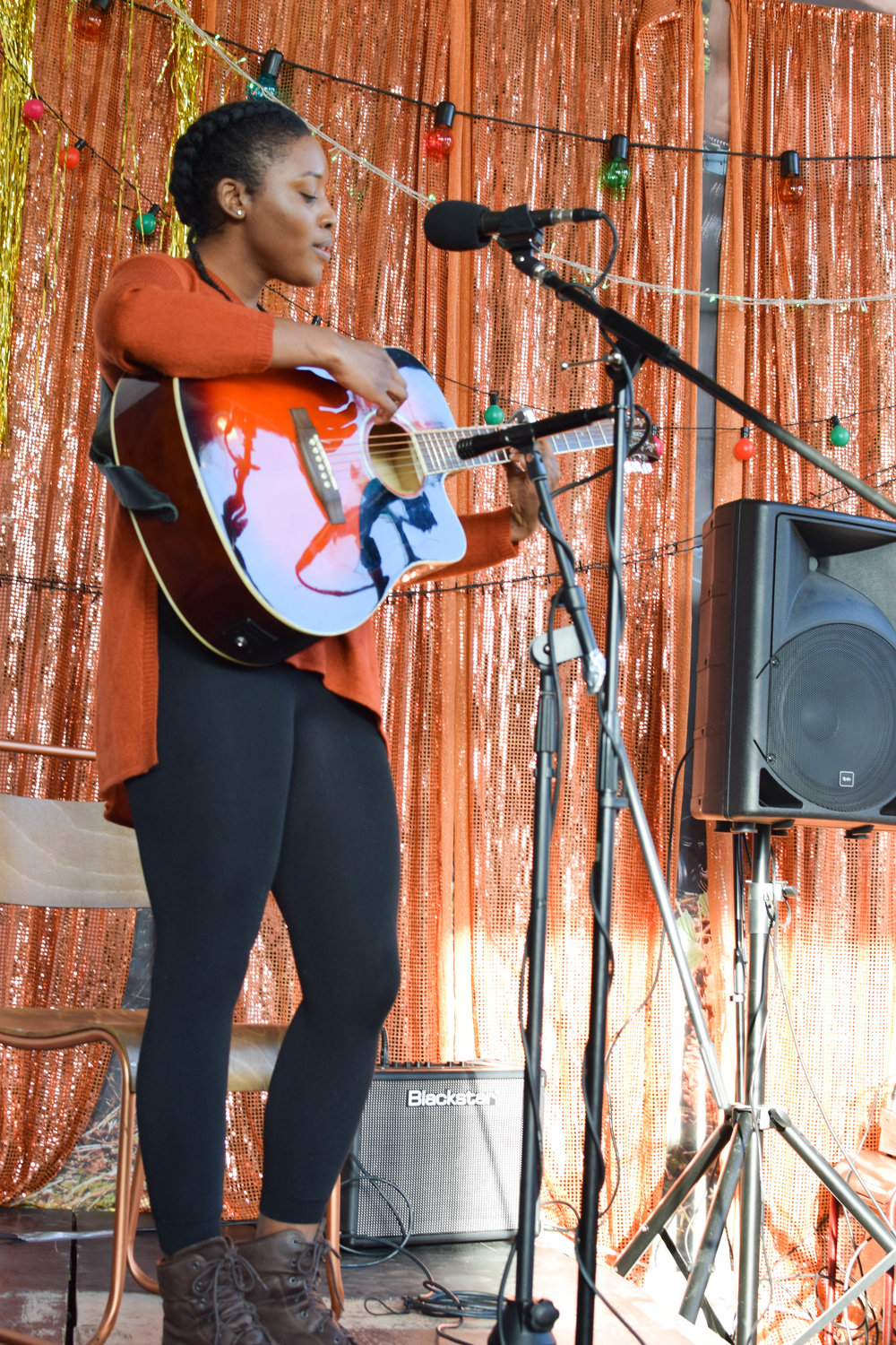 """""""After struggling to learn the guitar for years I have finally found someone who truly comprehends the needs of a beginner on guitar. This school has created an amazing structure and process on learning the basics of guitar playing and is constantly coming up with new and simple ways to make learning and practicing easier."""" Chardelle, London"""