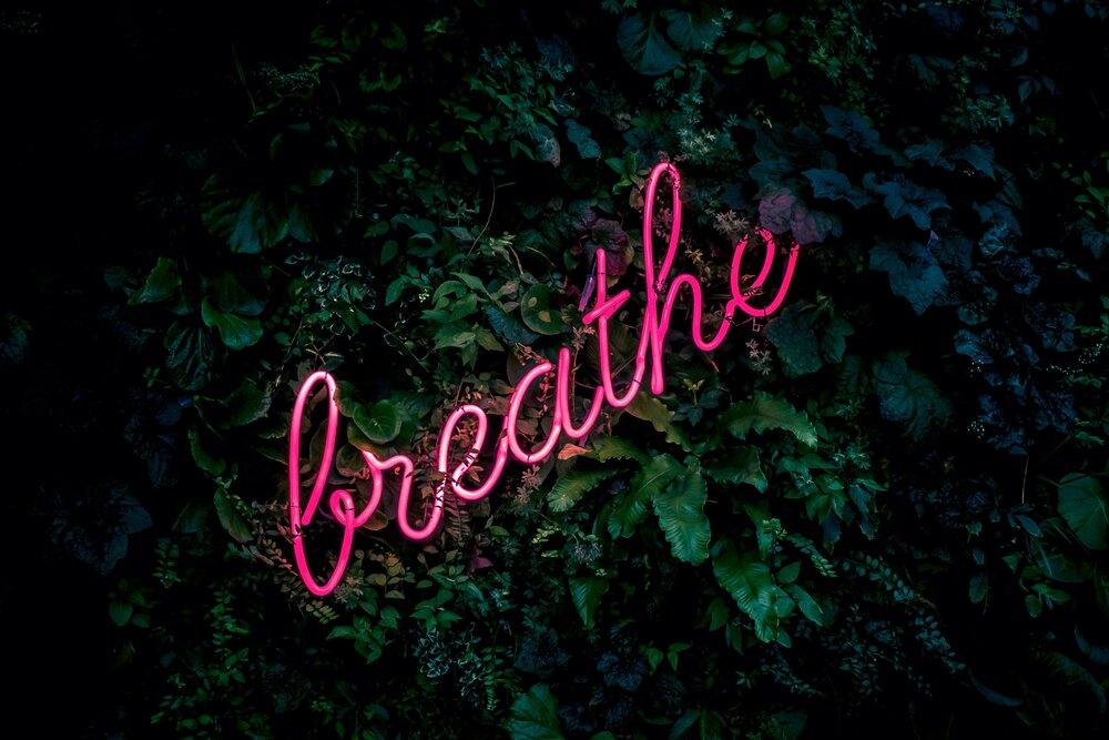Breathing during singing