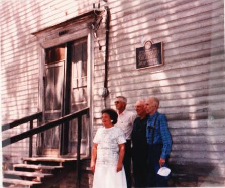 Dedication of Historical Marker, July 6, 1988