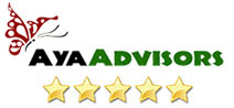 4.9 avg. out of 328 reviews.   See our reviews on     AyaAdvisors.org