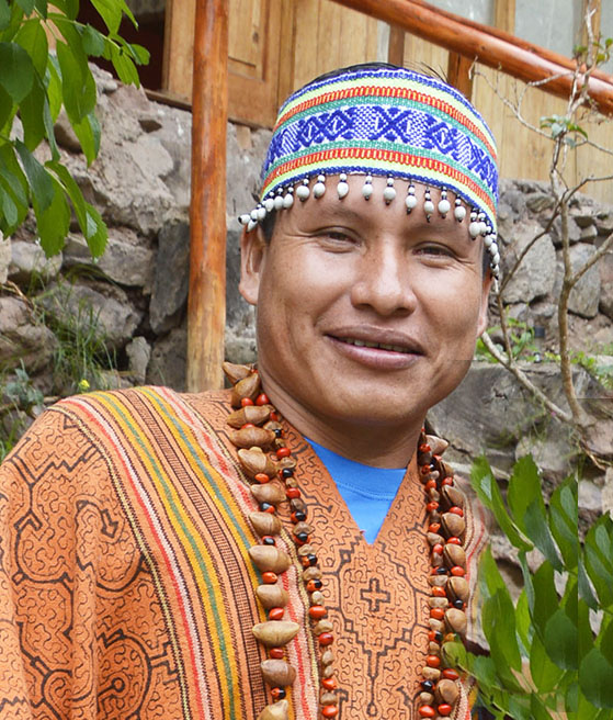 Maestro Diego, Shipibo Shaman at Arkana Sacred Valley, Peru