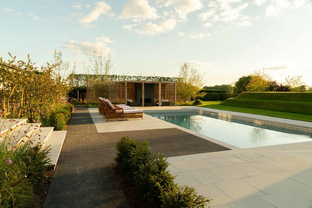 Farlamandchandler_GardenDesign_Kent_Marden_Pool Garden_Pool Pavilion_Pool_Lawn Banks_Whole Garden_2.jpg